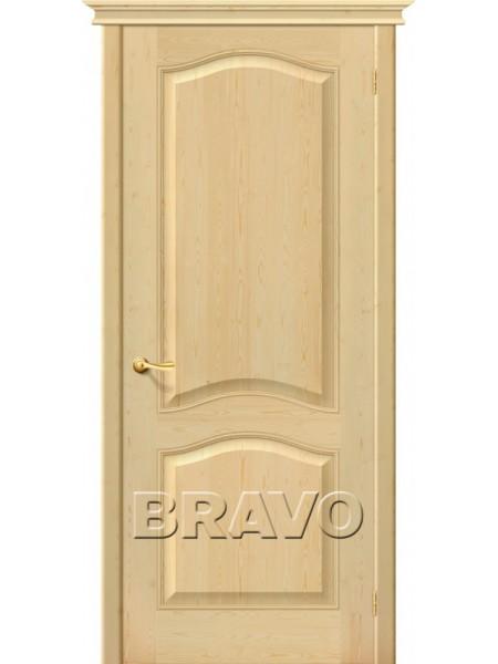 Межкомнатная дверь М7, Без отделки