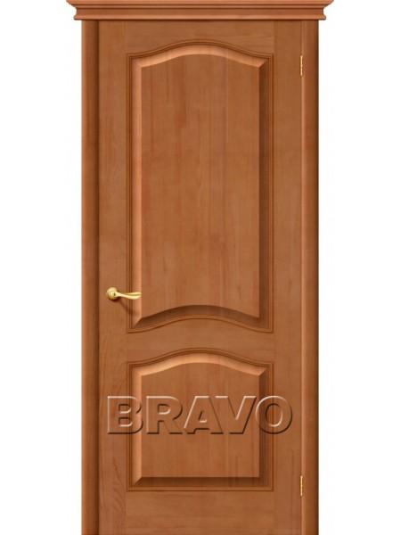 Межкомнатная дверь М7, Т-05 (Светлый Лак)