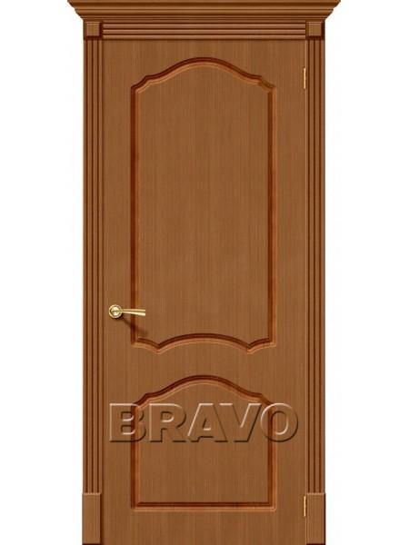 Межкомнатная дверь Каролина, Ф-11 (Орех)