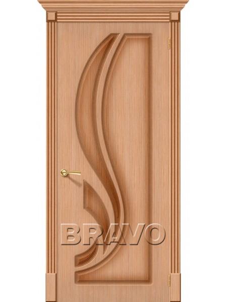 Межкомнатная дверь Лилия, Ф-01 (Дуб)