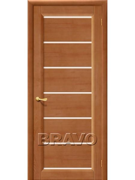 Межкомнатная дверь М2, Т-05 (Светлый Лак)