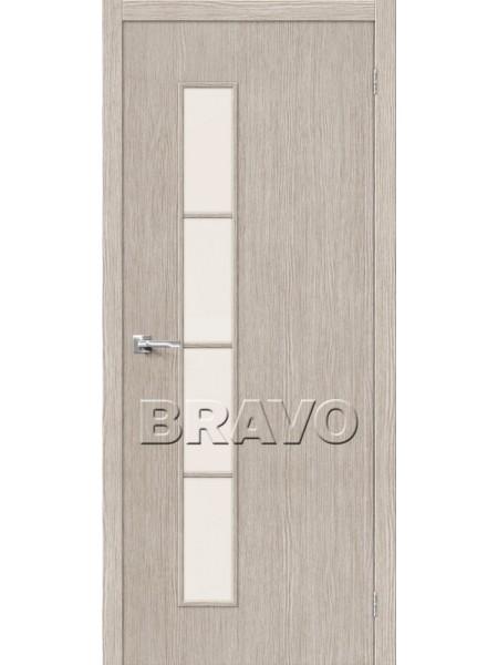 Межкомнатная дверь Тренд-4, 3D Cappuccino