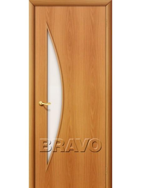 Межкомнатная дверь 5С, Л-12 (МиланОрех)