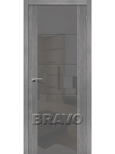 Межкомнатная дверь V4 S, Grey Veralinga