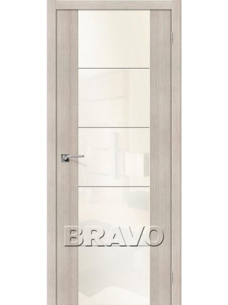 Межкомнатная дверь V4 WР, Cappuccino Veralinga