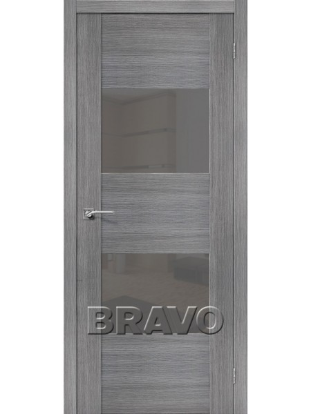 Межкомнатная дверь VG2 S, Grey Veralinga