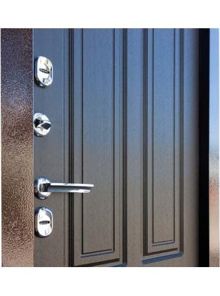 Входная уличная дверь с терморазрывом Кондор Термо (Антик медь / Венге)