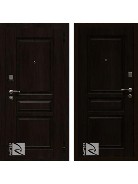 Входная металлическая дверь Райтвер Х4 (Венге / Венге)