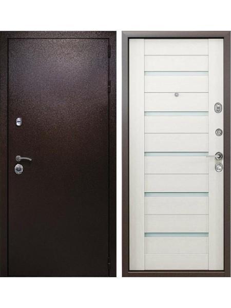 Входная металлическая дверь Кондор Одиссей (Медный антик / Клен)
