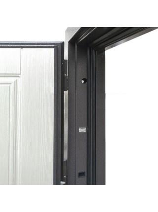 Входная уличная дверь с терморазрывом Райтвер Сибирь Термо(Букле Черный шоколад / Клён)