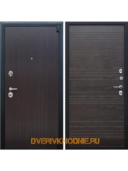 Металлическая входная дверь «Next 2» Венге поперечный