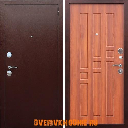 Металлическая входная дверь Цитадель Гарда 8 мм Дуб рустикал