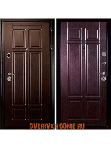 Металлическая входная дверь Дива МД-07 Венге / Венге