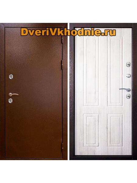 Металлическая входная дверь Райтвер Терморазрыв Беленый дуб