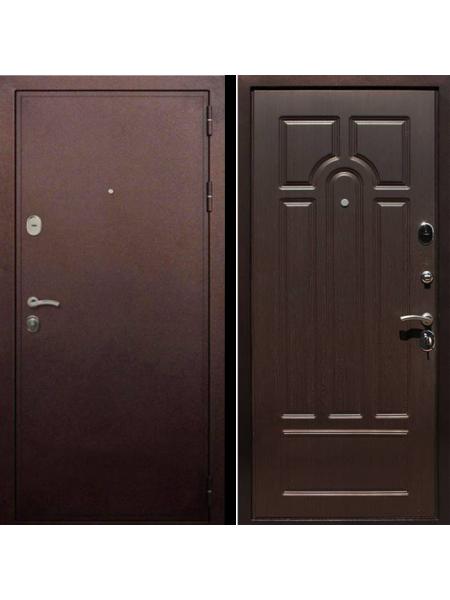 Металлическая входная дверь Рекс 5А Венге