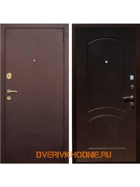 Металлическая входная дверь Рекс 1А Венге