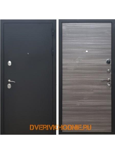 Металлическая входная дверь Рекс 5 Сандал серый горизонт