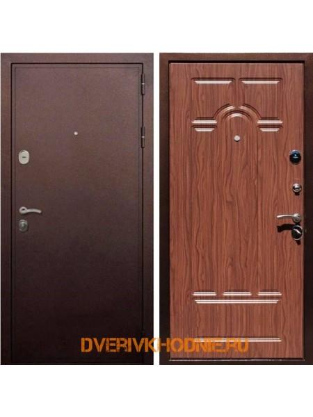 Металлическая входная дверь Рекс 5А Орех