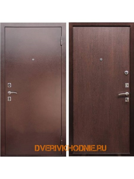 Металлическая входная дверь Рекс Эконом Венге