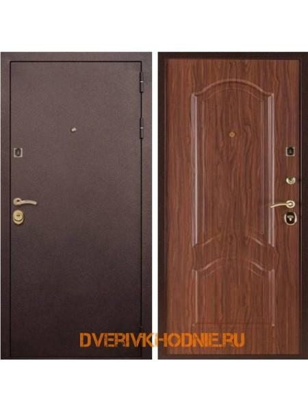Металлическая входная дверь Рекс Лайт 3К Орех