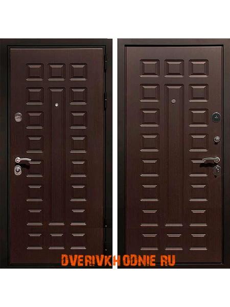 Металлическая входная дверь Рекс Гладиатор Венге