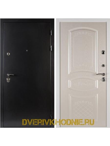 Металлическая входная дверь Shelter ДРЕЗДЕН  (Византия) Антик темное серебро