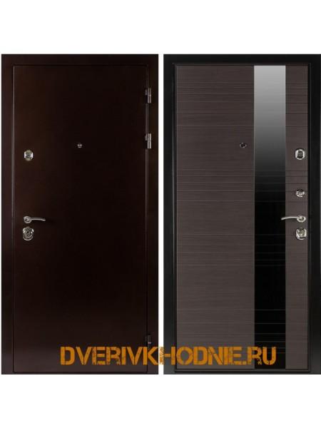 Металлическая входная дверь  Shelter ЛИВЕРПУЛЬ 1 (Роял-L)  Медный антик