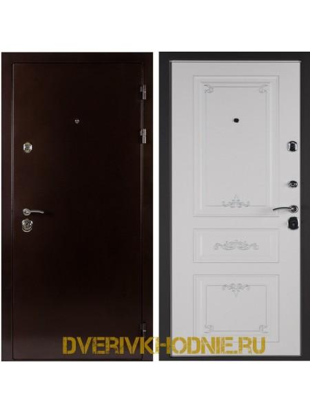 Металлическая входная дверь Shelter ЛЕОН (Ренессанс-2) Медный антик